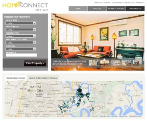 Screenshot HomeConnect Vietnam front page