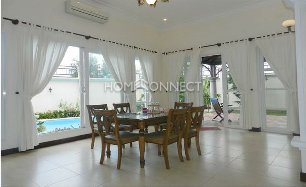 Beautiful 4-Bedroom Private Villa for Rent in Thao Dien