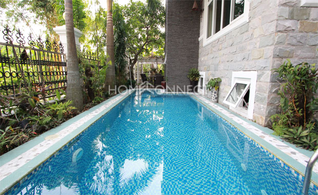 Sophisticated Modern Villa for Lease in Thao Dien Compound