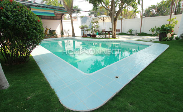 Colonial Style 3-Bedroom Villa For Rent in Thao Dien