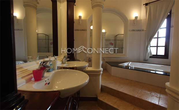 Classical-style Villa available in An Phu for Rent