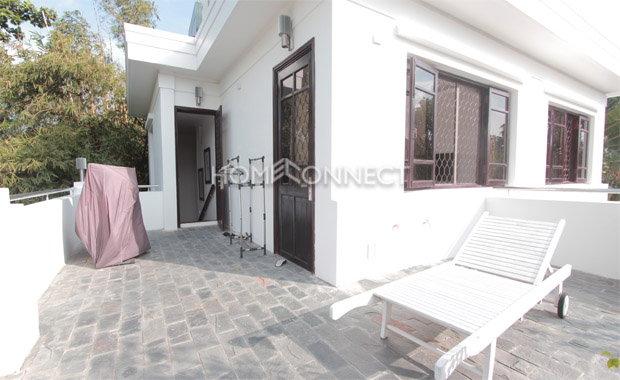 Private Villa with Playground in District 2 for Rent