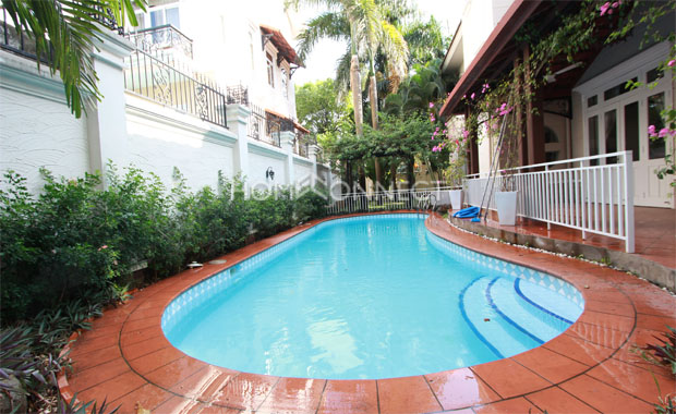 swimming-pool-house-for-rent-in compound-in-thao dien- vc020075