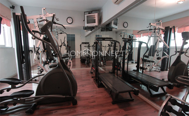 gym-servived-apartment-for-rent-at My ha