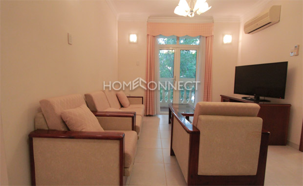 Fully-furnished Thao Dien Apartment for Lease