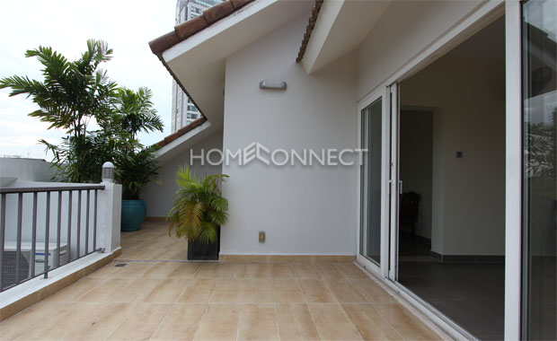 Urban Home in Compound for Rent in Thao Dien