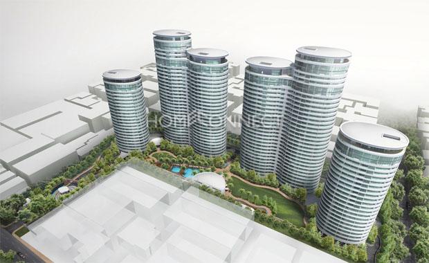 City Garden building Vietnam
