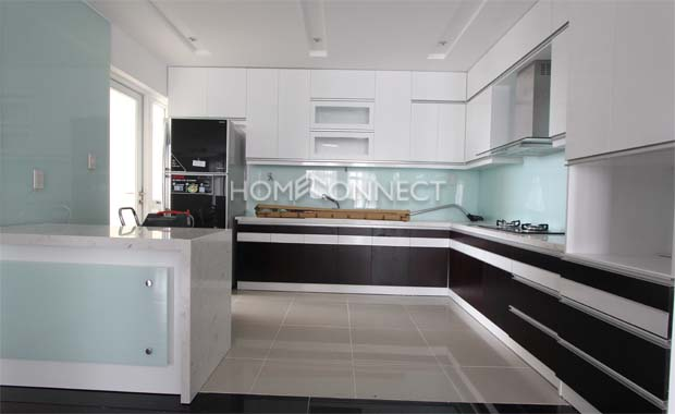 Green View Modern Penthouse in District 7 for Rent