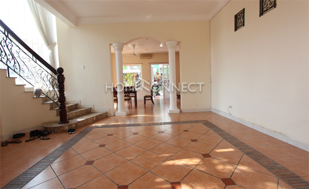 Thao Dien European-Style Villa For Rent