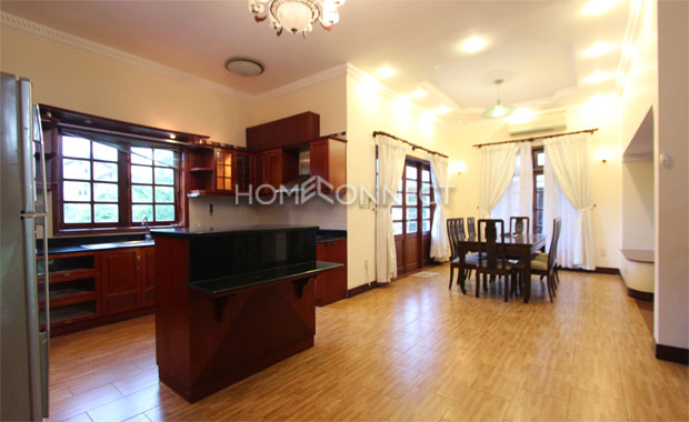Thao Dien Contemporary Villa in Compound for Lease